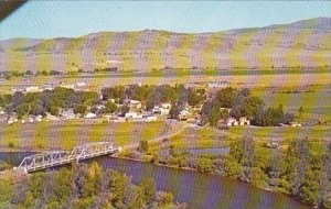 Birdseye View Of Ennis And The Madison Ennis Montana