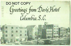 Davis Hotel, Columbia SC