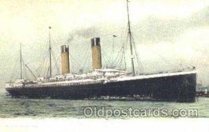 SS Oceanic Steamer Ship Unused