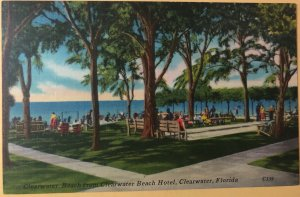 Clearwater Beach and Clearwater Beach Hotel in Clearwater, Florida (FL-28)