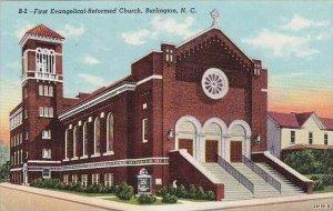 North Carolina Burlington First Evangelical Reformed Church
