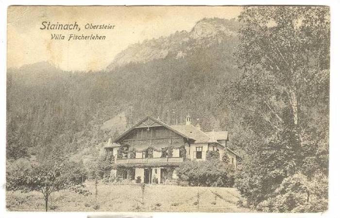 Villa Fischerlehen, Obersteier, Stainach (Styria), Austria, PU-1922