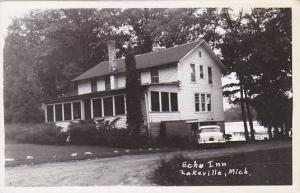 Michigan Lakeville Echo Inn Real Photo