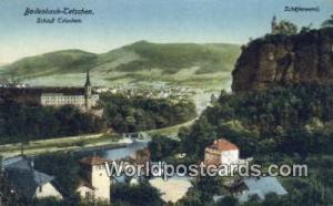 Bodenbach, Tetschen Germany, Deutschland Postcard Schlob Tetschen Bodenbach, ...