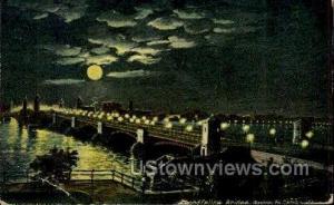 Longfellow Bridge Boston MA 1908 Missing Stamp