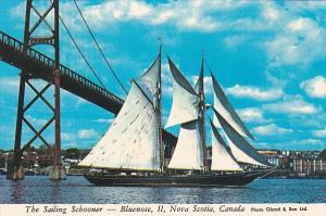 The Sailing Schooner, Bluenose II, HALIFAX, Nova Scotia, Canada, 50-70´s