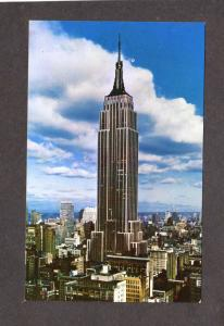 NY Empire State Building Bldg New York City NYC Postcard