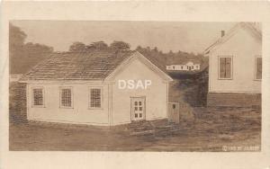 B71/ Poland Niles? Ohio Postcard Real Photo RPPC c1915 Presient McKinley School