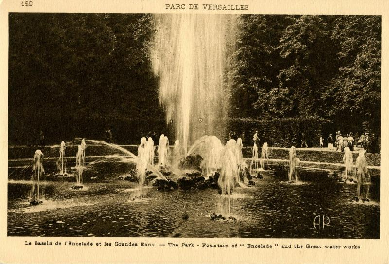 France - Versailles. Versailles Park, Fountain of Encelade