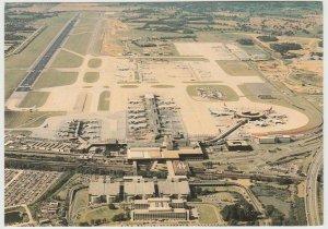 GATWICK AIRPORT LONDON ENGLAND UK Postcard aerial view