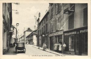CPA CHARLY sur MARNE Rue E Morlot (152171)