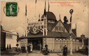 CPA EXPO Internat....ROUBAIX 1913 - Palais de l'Austraile (513019)