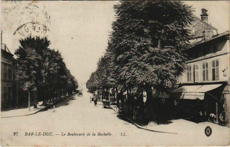 CPA BAR-le-DUC - Le Boulevard de la Rochelle (125624)
