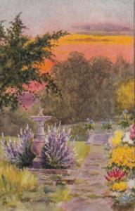 Tucks Garden Scene All In A Garden Fair Series 2390