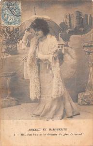 Armand et Marguerite Oui, c'est bien ici la demeure du pere d'Armand! umbrella