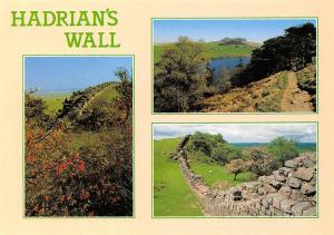 Hadrian's Wall The Roman Wall Walltown Crags, Crag Lough Northumberland