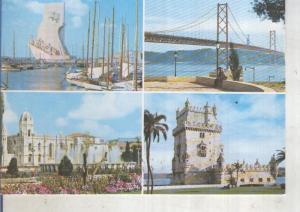 Postal 014093: Vistas de Lisboa, Portugal