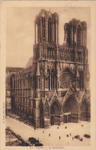 France Reims La Cathedrale 1930