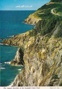 Canada Nova Scotia The Rugged Shoreline Of The beautiful Cabot Trail Cape Breton
