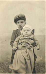 A. Hoffmann fotograf Cluj identified children Ilva Mica 1934 photo postcard