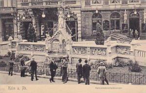 Heinzelmannchenbrunnen, Koln A. Rh. (North Rhine-Westphalia), Germany, 1900-1...