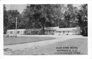 Iowa  Independence Rush Park Motel
