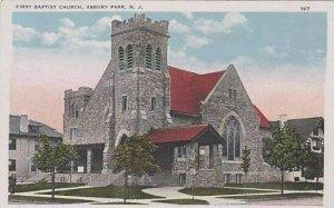 New Jersey Asbury Park First Baptist Church