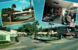 Florida St Augustine Palms Motel & Restaurant 1960