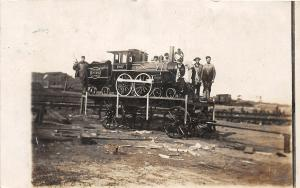 F28/ Avis Jersey Shore Pennsylvania RPPC Postcard1907 Miniature Railroad Parade