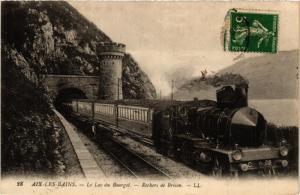 CPA Aix-Les-Bains Le Lac du Bourget, Rochers de Brison (682068)