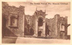Scottish National War Memorial Edinburgh Scotland, UK Unused
