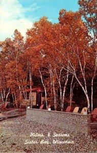 Wisconsin Sisters Bay Helm's 4 Seasons Motel