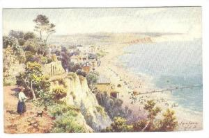 AS: Oilette, Panorama, Sandown, Isle Of Wight, England, UK, 1910-1920s