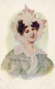 Lady with Pink Hat