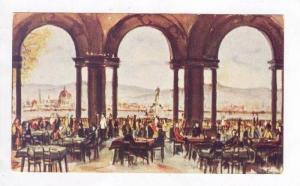 Piazzale Michelangelo, Bar-Ristorante  La Loggia , Firenze, Italy, 1940-1960s