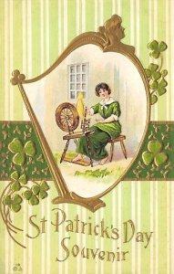 Souvenir Saint Patrick's Day writing on back