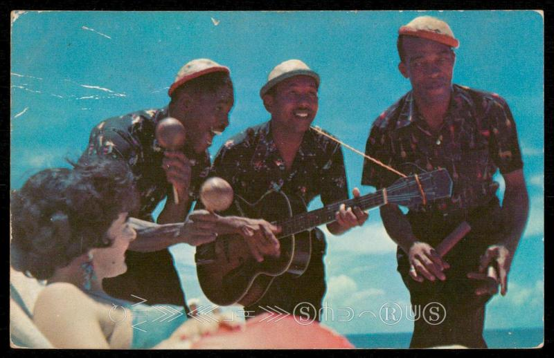 Greetings from Jamaica, B.W.I. - Strolling Calypso Players