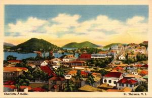 St Thomas Charlotte Amalie Panoramic View