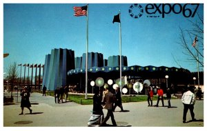 Canada Montral Expo 67  State of New York  Pavilion