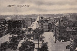Public Square & Market St. , YOUNGSTOWN , Ohio ; PU-1909