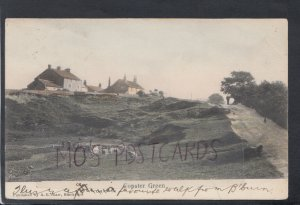 Lancashire Postcard - Copster Green Village, Ribble Valley  HP404