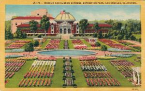 USA Museum and Sunken Garden Exposition Los Angeles California 01.62