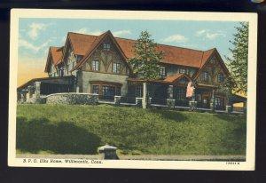 Willimantic, Connecticut/CT Postcard, B.P.O. Elks Home