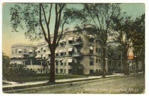 Weldon Hotel, Greenfield, Massachusetts, 00-10s