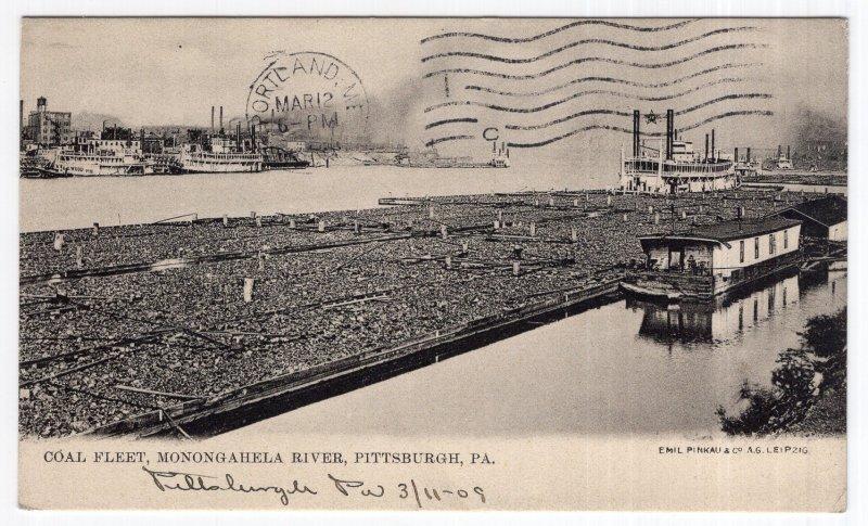 Pittsburgh, Pa, Coal Fleet, Monongahela River