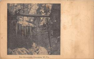 E77/ Colliers West Virginia Postcard 1909 The Klondike Waterfall