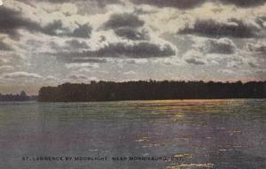 MORRISBURG , Ontario, 00-10s ; St Lawrence by Moonlight