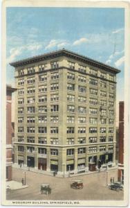 W/B Woodruff Building in Springfield Missouri MO 1916