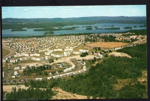 Ontario ~ Aerial View of Camp Petawawa (ARMY) - Chrome 1950s-1970s