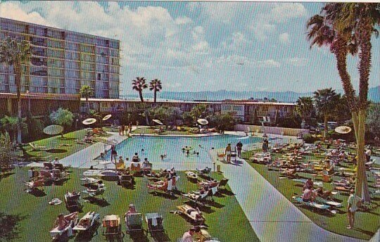 Fun In the Nevada Sun In A World Of Recration Stardust Hotel With Pool Las Ve...